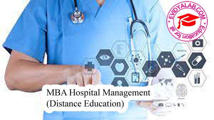 MBA Hospital Management (Distance Education)